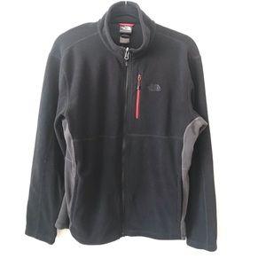 The North Face Black Polartec Fleece Zip Up Jacket